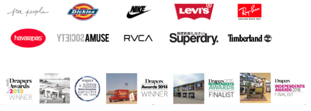Stocking over 100 of the biggest and best brands in the world of surf fashion