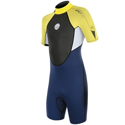 Alder Impact Shorty Wetsuit - Yellow