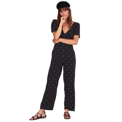 Amuse Society Brightside Jumpsuit - Black