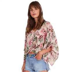 Amuse Society Brisa Top - Light Pink