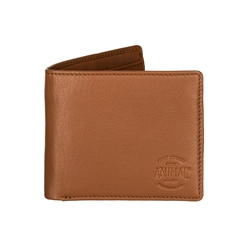 Animal Turmoil Wallet  - Tan