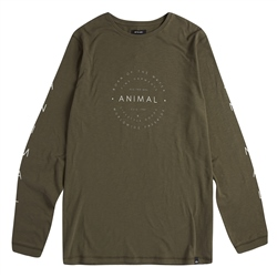 Animal Fear T-Shirt - Dusty Olive Green
