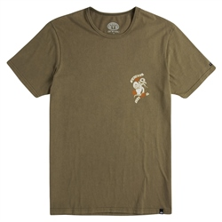 Animal Slave T-Shirt - Dusty Olive Green