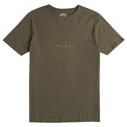 Animal United T-Shirt - Dusty Olive Green