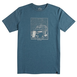 Animal Woody T-Shirt - Tapestry Blue Marl