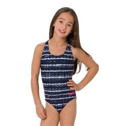 Animal Lapping Swimsuit - Patriot Blue