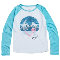 Animal Mags T-Shirt - Peacock Blue