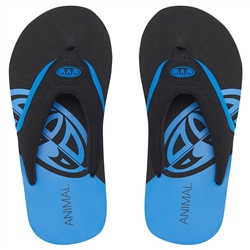 Animal Jekyl Slice Flip Flops - Seaport Blue