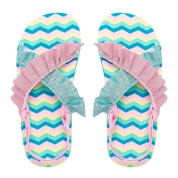 Animal Daisie Flip Flops - Lollipop Pink
