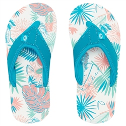 Animal Swish AOP Flip Flops - Sugary Pink