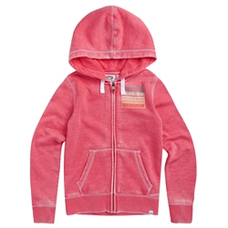 Animal Sunset Palm Hoody - Paradise Pink