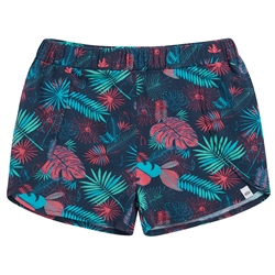 Animal Summer Leaf Shorts - Patriot Blue