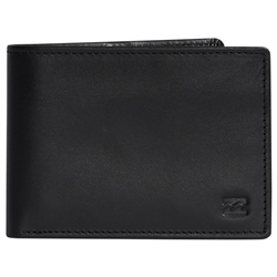 Billabong Vacant Leather Wallet - Black