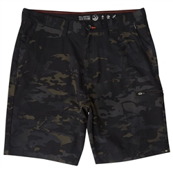 Billabong Surftrek Multicam Submersible Cargo Shorts - Black Camo