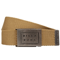 Billabong Sergeant Belt - Gravel