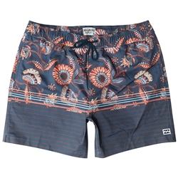 Billabong Spinner Stretch Laybacks Boardshorts - Navy