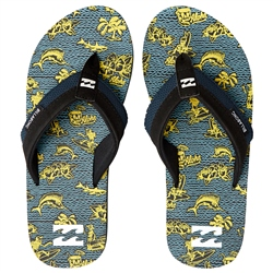 Billabong Slappy Flip Flops - Mint