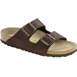 Birkenstock Arizona Leather Sandals - Habana