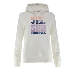 Born by the Sea Zen Hoody - White