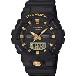 Casio G Shock Watch - Gold & Black