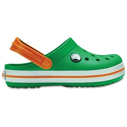 Crocs CrocBand Clogs - Green & White