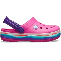 Crocs Wavy Band Clogs - Magenta