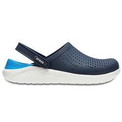 Crocs LiteRide Clogs - Navy & White