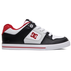DC Shoes Pure Shoes - Navy & Red