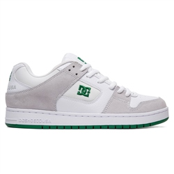 DC Shoes Manteca Shoes - White & Green