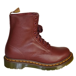 Dr Martens 1460P Virginia Boots - Cherry