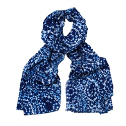 F & J Collection Rathi Scarf - Blue