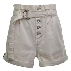 Free People Cindy Shorts - White