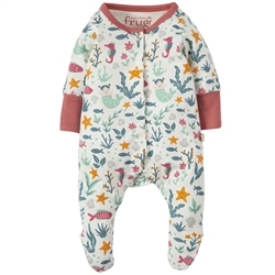 Frugi Lovely Lil Babygrow - Mermaid