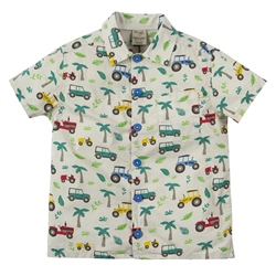 Frugi Harvey Shirt - Tropical