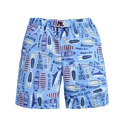 Joules Surfer Walkshorts - Blue