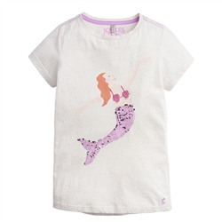 Joules Astra T-Shirt - Pink Mermaid