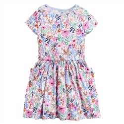 Joules Jude Dress - Cream Floral