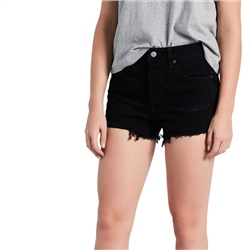 Levi's 501 Hi Rise Shorts - Black
