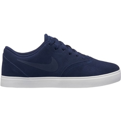 Nike SB Check Suede Shoes - Blue & White