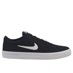 Nike SB Charge Shoes - Black & White