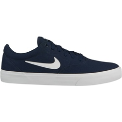 Nike SB Charge Shoes - Obsidian & White
