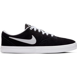 Nike SB Check Solar Shoes - Black & White