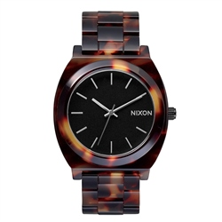 Nixon Time Teller Acetate Watch - Tortoise