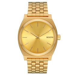 Nixon Time Teller Watch - Aged Gold