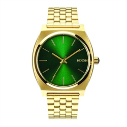 Nixon Time Teller Watch - Gold & Green