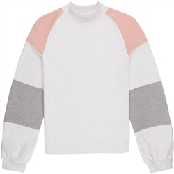O'Neill Kamui Colours Sweatshirt - White & Pink