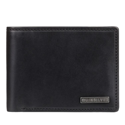 Quiksilver Classical Plus Bi-Fold Wallet - Black