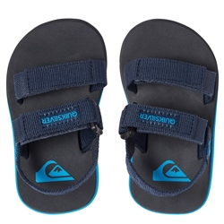 Quiksilver Monkey Caged Sandals - Blue & Grey