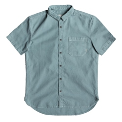 Quiksilver Time Box Shirt  - Stormy Sea