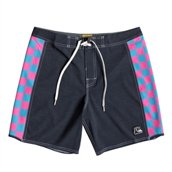 "Quiksilver Echo Beach Checker 18"" Boardshorts - Black"